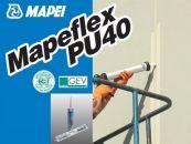 Mapei MAPEFLEX PU 40 SL, полиур. герметик для горизонтальных швов с расш. 25%, тюбик 600 мл