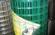 Сетка сварная неоцинкованная в ПВХ 50х50х2 зел 0,5х20