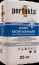 """Клей монтажный для газобетонных блоков Perfekta® """"Лайтблок"""" Зимняя Серия  25 кг"""
