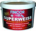 Краска ВД-АК-223 FINCOR «SUPERWEISS» 15кг
